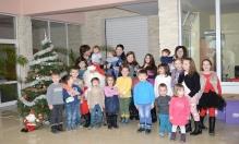 Коледно тържество за най-малките организира фирма Стойчеви!