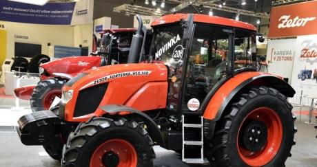Модернизираната серия трактори Фортера с TIER IV стандартизация