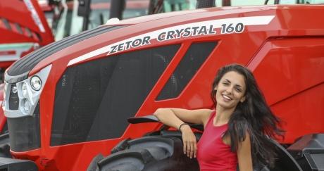 Zetor Crystal направи световната си премиера в България