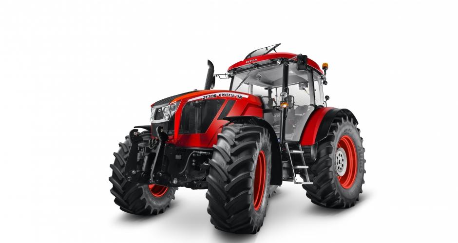 Zetor пуска първия си трактор с 6-цилиндров двигател Crystal (СНИМКИ)