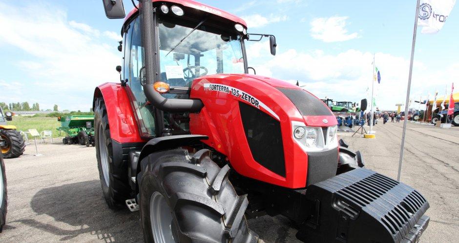Zetor Forterra 135 е един от най-икономичните трактори в своя клас
