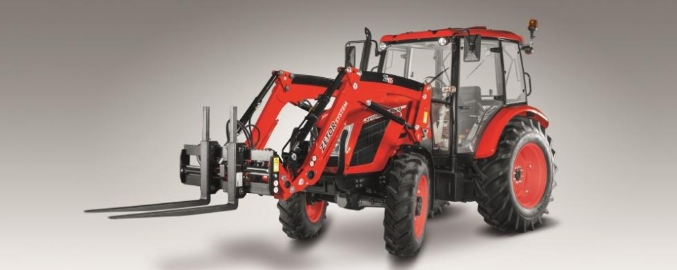 Високо надежден трактор от среден клас с отлично съотношение между цена и качество.